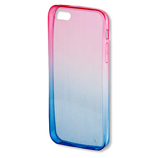 4smarts Basic Frisco Ultra Thin Silicone Clip Θήκη Σιλικόνης Pink / Blue - Apple iPhone 5 / 5s / SE