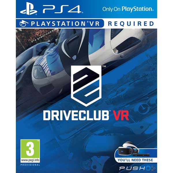 DriveClub - PS4 VR Game
