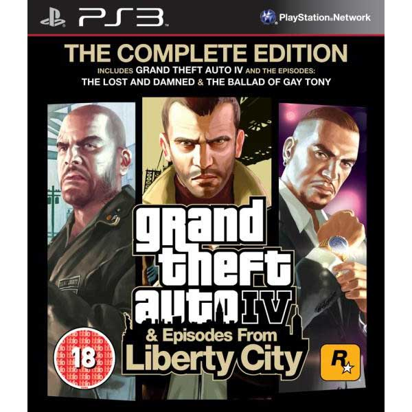 Grand Theft Auto IV & Episodes From Liberty City The Complete Edition - PS3 Game
