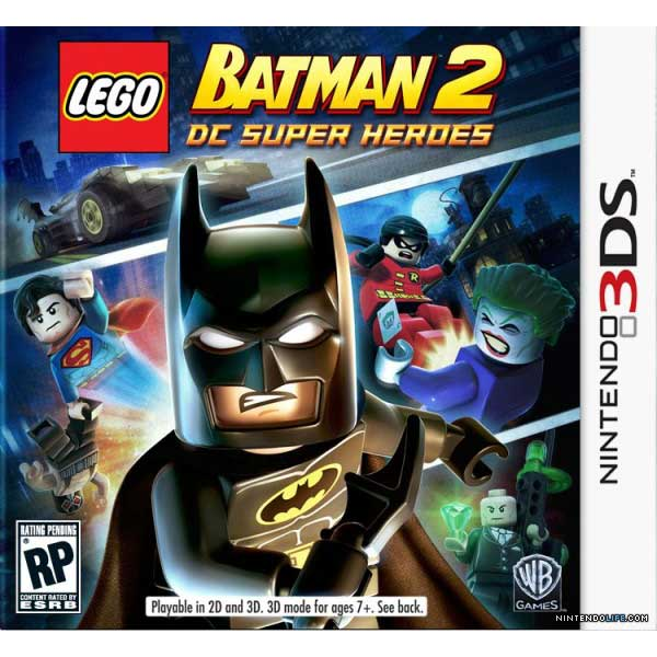 Lego Batman 2 DC Super Heroes - Nintendo 3DS Game