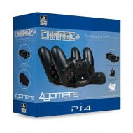 4Gamers Twin Charging Dock Charger - PS4 Controller
