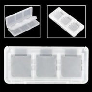 Game Card Case Holder Cartridge Box White 6 σε 1 - Nintendo DS