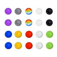 Analog Controller Thumb Stick Silicone Grip Cap Cover 20X Multi Color