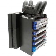Games Tower Stand & Twin Charging Docking Station