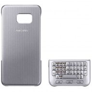 Samsung Keyboard Cover Θήκη Πληκτρολόγιο EJ-CG928M Silver - Galaxy S6 Edge Plus SM-G928F