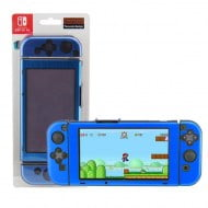Aluminium Protective Case Metal Cover Blue - Nintendo Switch Console