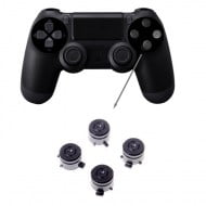 Aluminium Bullet Button Black - PS4 Controller