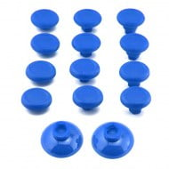 Analog Controller FPS ThumbSticks Grips Caps Cover 12X Blue