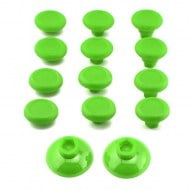 Analog Controller Thumb Stick Grip Cap Cover 12X Green