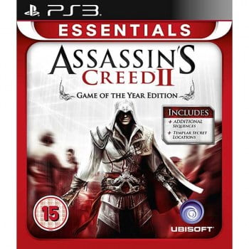 Assassins Creed II Game Of The Year - PS3 Game