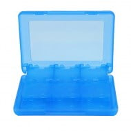 Game Card Case Holder Cartridge Box Blue 28 σε 1 - Nintendo DS - 3DS