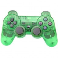 Bluetooth Wireless OEM Crystal Green - PS3 Controller
