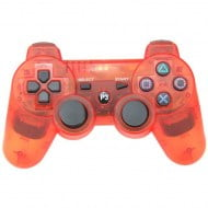 Bluetooth Wireless OEM Crystal Red - PS3 Controller