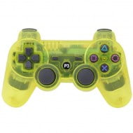 Bluetooth Wireless OEM Crystal Yellow - PS3 Controller