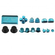 Buttons Set Mod Kits Blue - PS4 V2 Controller