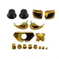 Buttons Set Mod Kits Gold - Xbox One V1 Controller
