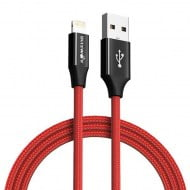 Cable AmpCore Turbo BlitzWolf BW-MF9 Lightning Red 1m