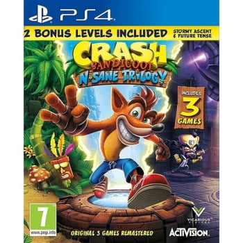 Crash Bandicoot N. Sane Trilogy Bonus Edition - PS4 Game