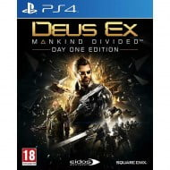 Deus Ex Mankind Divided Day One Edition - PS4 Game