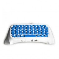 Dobe Keyboard White Bluetooth 3.0 - PS4 Controller