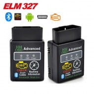 HH OBD2 V2.1 Diagnostic Bluetooth Scan Adapter For Android Torque Car ELM327