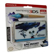 Epic Mickey Crystal Armor & Paintbrush Stylus Character Kit Θήκη - Nintendo 3DS Console