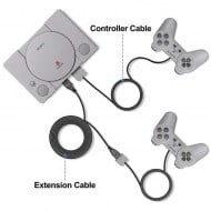 Extension Cable 3M Black Classic Mini Playstation Controller