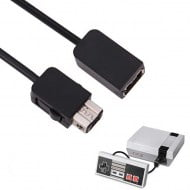 Extension Cable 1.8M Black OEM Classic Mini NES Controller