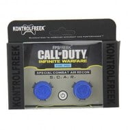 FPS Grips KontrolFreek Call Of Duty Infinite Warfare Blue SCAR Caps - PS4 Controller