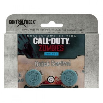FPS Grips KontrolFreek Call Of Duty Zombies Quick Revive Caps - PS4 Controller