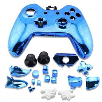 Full Housing Shell Electro Blue - Xbox One Replacement Controller