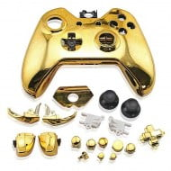 Full Housing Shell Electro Gold - Xbox One Replacement Controller