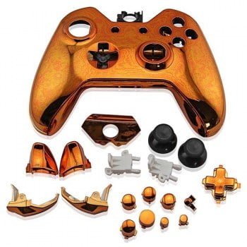 Full Housing Shell Electro Orange - Xbox One Replacement Controller