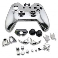Full Housing Shell Electro Silver - Xbox One Replacement Controller