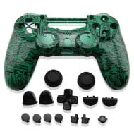 Full Housing Shell Green Board - PS4 Replacement Controller