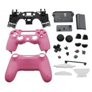 Full Housing Shell Pink & Buttons - PS4 Controller