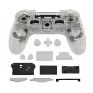Full Housing Shell Transparent White - PS4 Replacement Controller