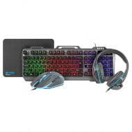 Fury NFU-1217 Thunderstreak Gaming Combo Set 4 in 1
