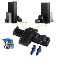 Games Stand Dobe Twin Charging Docking Cooling Station
