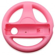 Handle Steering Wheel Set Pink - Nintendo Wii Controller