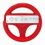 Handle Steering Wheel Set Red - Nintendo Wii Controller
