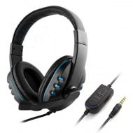 Headset OEM 3.5mm Blue - PS4 / Xbox One / PC