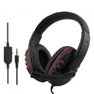Headset OEM 3.5mm Red - PS4 / Xbox One / PC