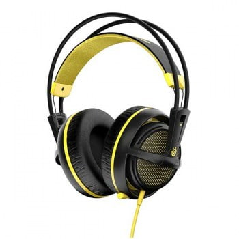 Headset Steelseries Siberia 200 Stereo Proton Yellow - PS4 / Xbox One / Wii U / PC / Mobile