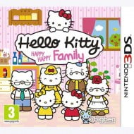 Hello Kitty Happy Family - Nintendo 3DS Game