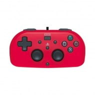 Hori Mini Wired Gamepad Red - PS4 Controller