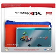 Mario Kart 7 Protector & Easy Pouch Set - Nintendo 3DS Console