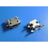 Micro USB Socket SMD SMT 5 Pin Female Shen Plate V2 Θηλυκό Βύσμα
