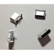 Micro USB Socket SMD SMT 5 Pin Female 2 Legs Ping Mouth Θηλυκό Βύσμα