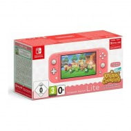Nintendo Switch Lite 32GB Coral & Animal Crossing: New Horizons
